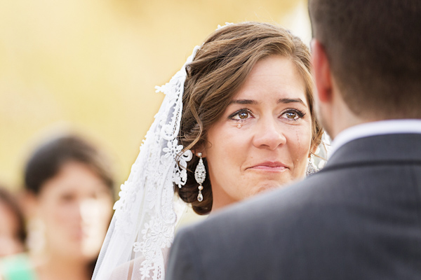 emotional wedding photo by Todd Laffler of Laffler Photography | via junebugweddings.com