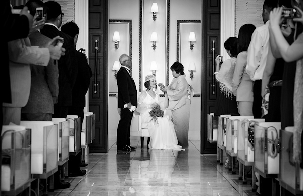 ceremony wedding photo by Tracey and Dee of 37 Frames Photography | via junebugweddings.com