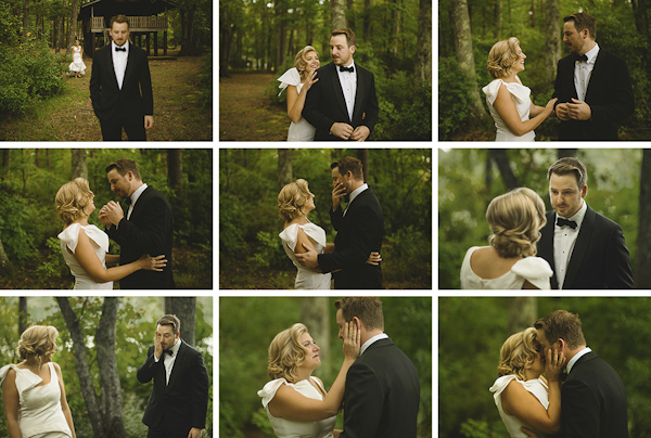 emotional wedding photo by Jakob Granqvist of Nordica Photography | via junebugweddings.com