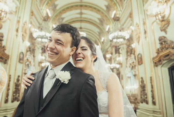 emotional wedding photo by Renata Xavier | via junebugweddings.com