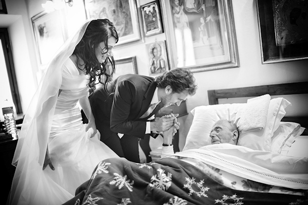 emotional wedding photo by Andrea Corsi Photography | via junebugweddings.com