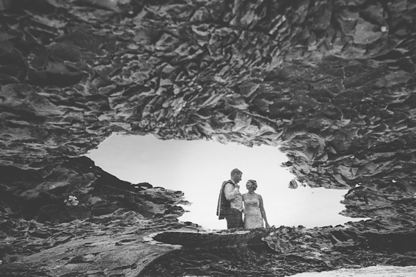 landscape portrait wedding photo by Benjamin Derkin of Derk's Works | via junebugweddings.com