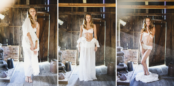 intimate and soft lingerie boudoir fashion photo shoot by Ben Sasso - Los Angeles, California wedding photographer | via junebugweddings.com