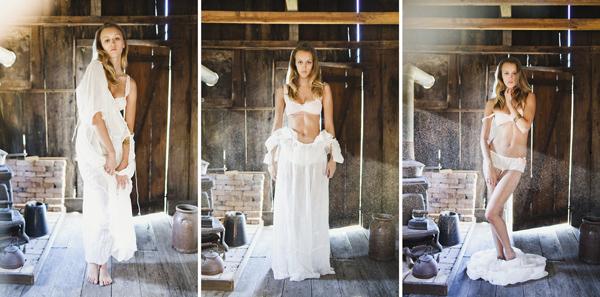 intimate and soft lingerie boudoir fashion photo shoot by Ben Sasso - Los Angeles, California wedding photographer | via junebugweddings.com