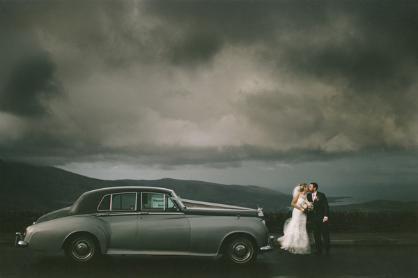 moody romantic wedding photo by Savo Photography | via junebugweddings.com