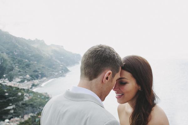 romantic elopement wedding at Amalfi Coast, Italy - photo by Cinzia Bruschini | via junebugweddings.com
