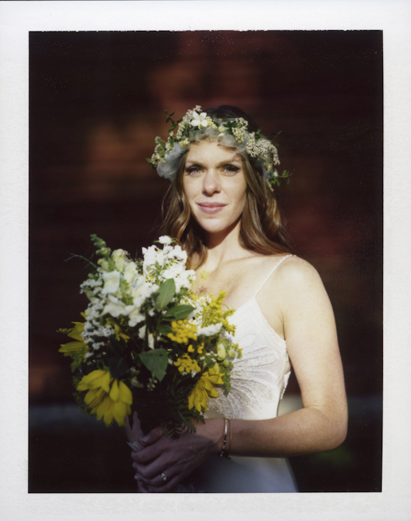 polaroid instant film wedding photo by Ash Imagery - Philadelphia | via junebugweddings.com