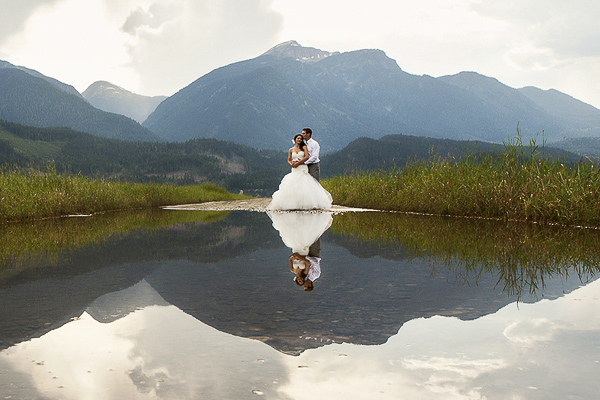 wedding photo by Abby Photography - Chris and Elisha Stewart - British Columbia, Canada | via junebugweddings.com