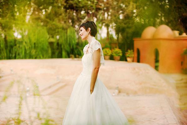 bridal portrait by Andreas Holm Photography - Spain | via junebugweddings.com