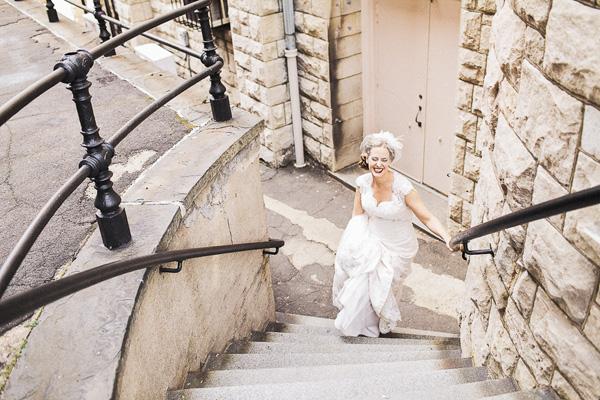 bridal portrait by Heather Elizabeth Photography | via junebugweddings.com