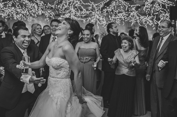joyful, happy photo by Fer Juaristi, Mexico wedding photographer | via junebugweddings.com
