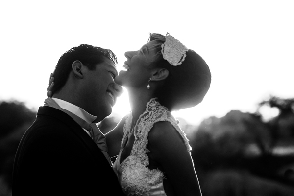 joyful, playful wedding photo by Daniel Diaz Photography - Mexico wedding photographer | via junebugweddings.com