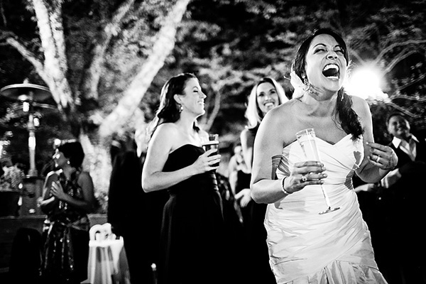 joyful toast photo by Elizabeth Lloyd Photography | via junebugweddings.com