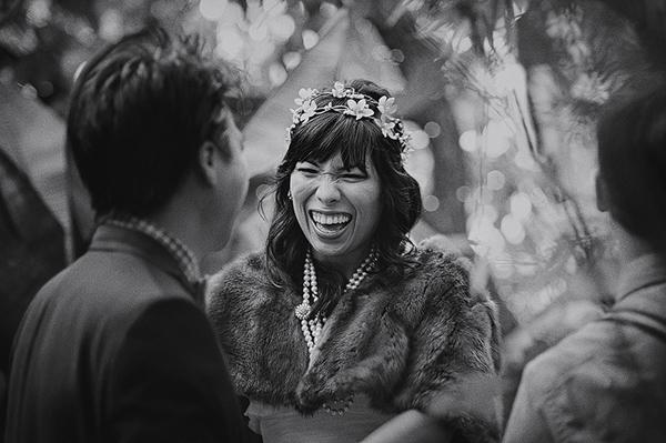 joyful wedding photo by Lisa Lefringhouse Photography   via junebugweddings.com