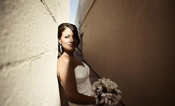 bridal portrait by Natalie Moser | via junebugweddings.com