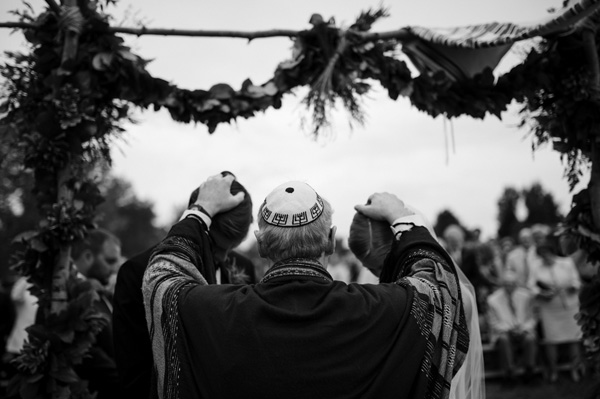 wedding ceremony photo by Heidi Chowen of Chowen Photography | via junebugweddings.com