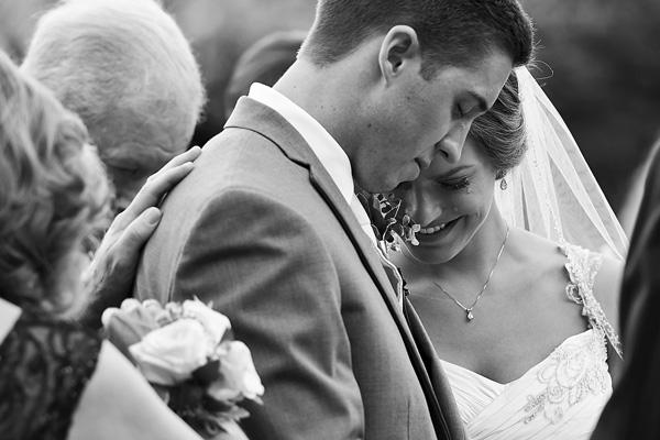 wedding ceremony photo by Critsey Rose | via junebugweddings.com