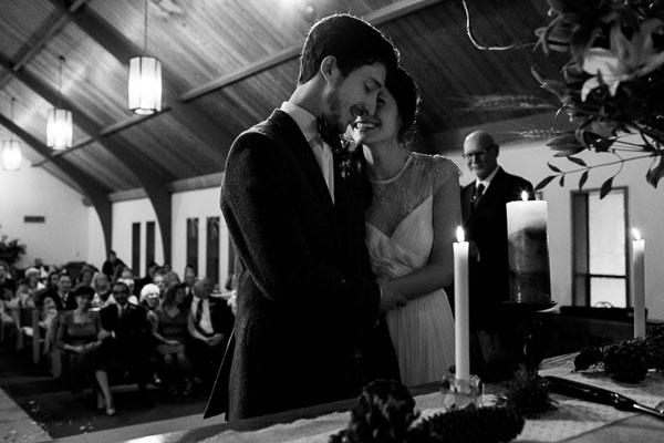 wedding ceremony photo by Daniel Stark of Stark Photography | via junebugweddings.com