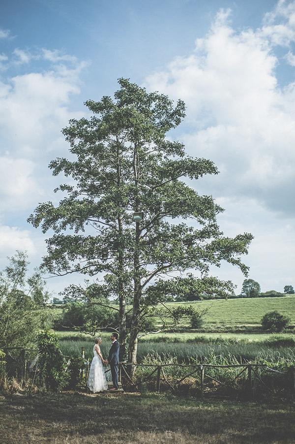creative wedding photo by Savo Photography, Ireland wedding photographer | via junebugweddings.com