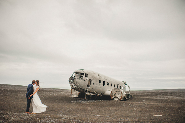 romantic elopement in Iceland with photography by Thierry Joubert of Pretty Days | via junebugweddings.com