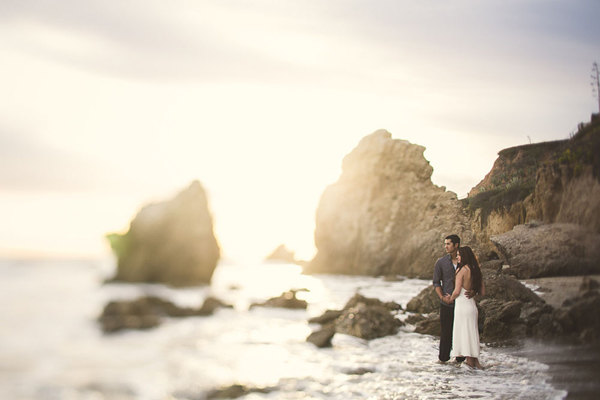 beach wedding photo by Ash Nayler Photography - Ontario wedding photographer | via junebugweddings.com