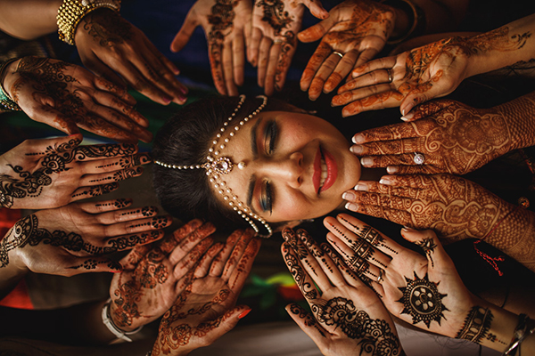 Creative Wedding Photo by ARJ Photography | via Junebugweddings.com
