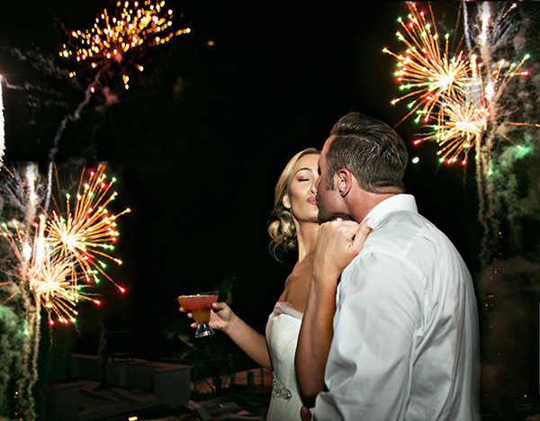 fireworks photo by Joy Marie Photography  | via junebugweddings.com