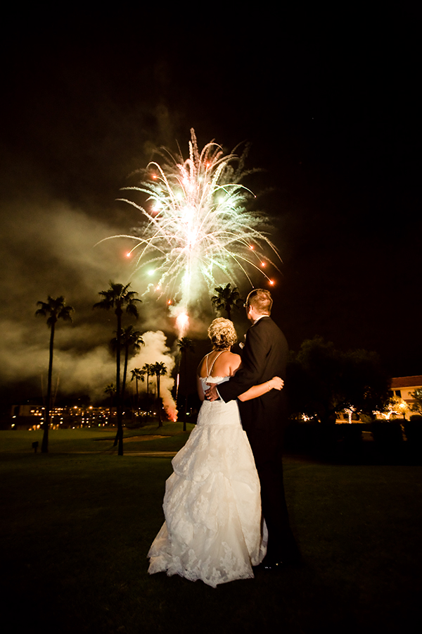 fireworks photo by Ventola Photography | via junebugweddings.com