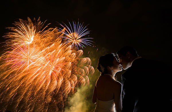 fireworks photo by 37 Frames | via junebugweddings.com