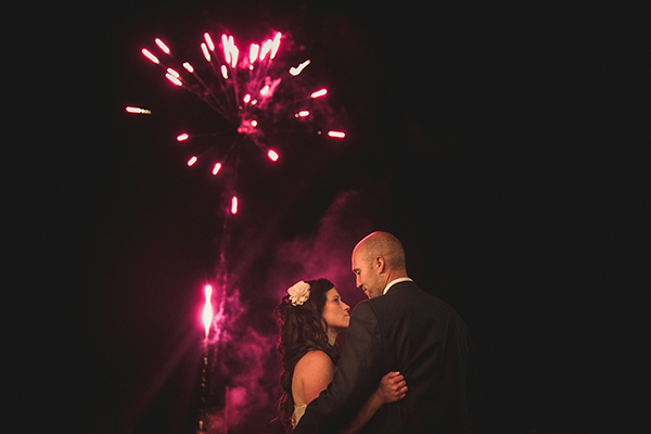 fireworks photo by Ash Nayler Photography | via junebugweddings.com
