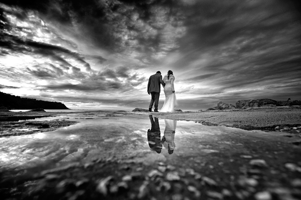 Beautiful Landscape Wedding Portraits by Danilo Coluccio Photographer