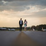 Fun Airport Engagement Session from Mantas Kubilinskas