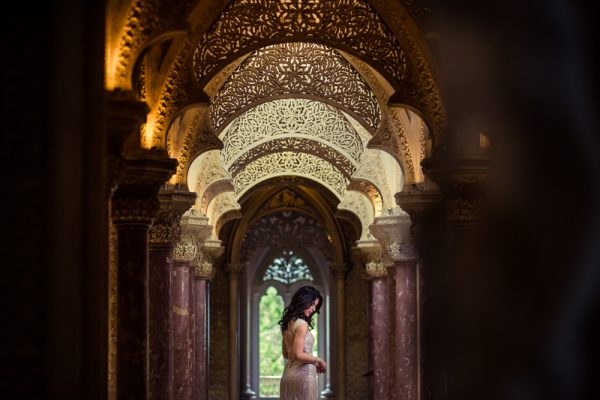 romantic post-wedding shoot