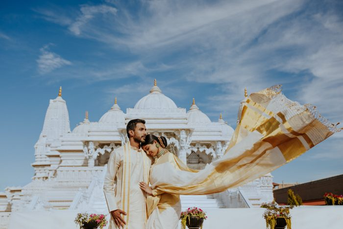 windy indian wedding