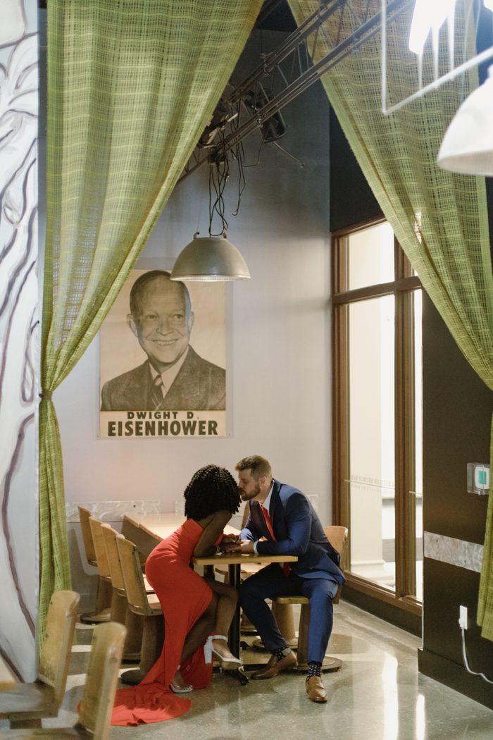 photo of couple indoors