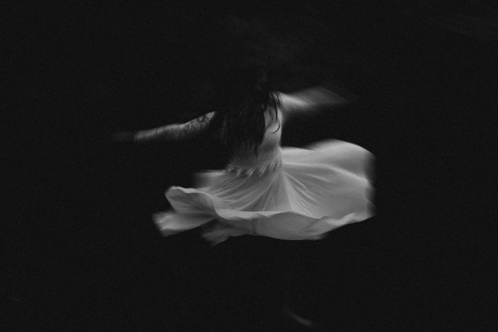 black and white twirl pic TPOM