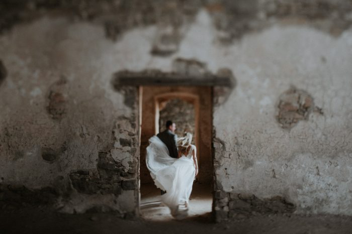wedding dress breeze photo