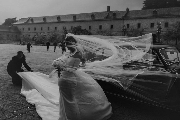 bride windy veil honorable