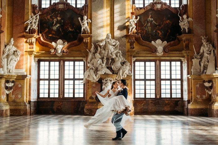 Top Pics of the month december palace wedding