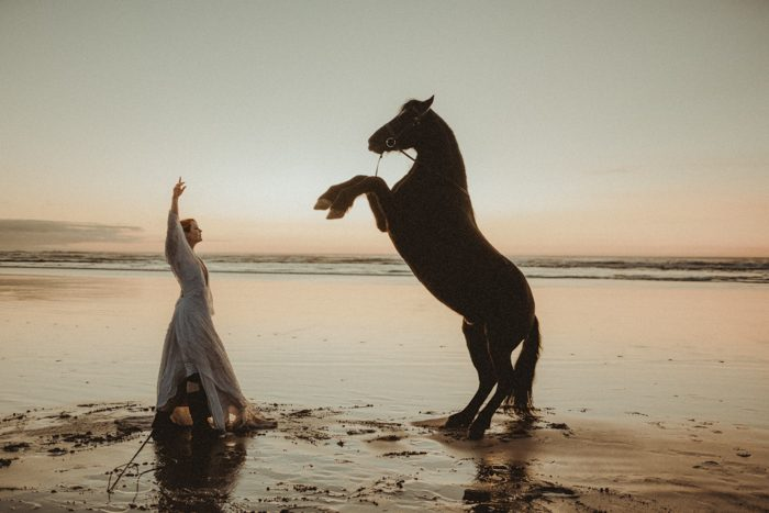 horse and bride TPOM 2020
