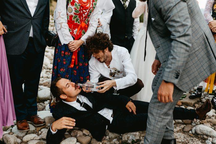 men wedding party TPOM