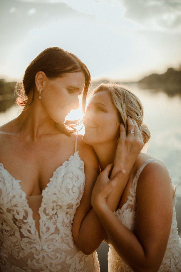 same sex wedding two brides 2020