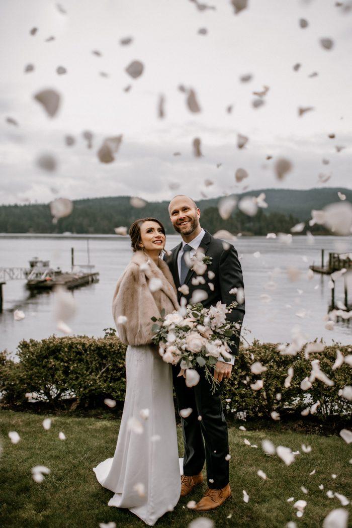 confetti wedding photography