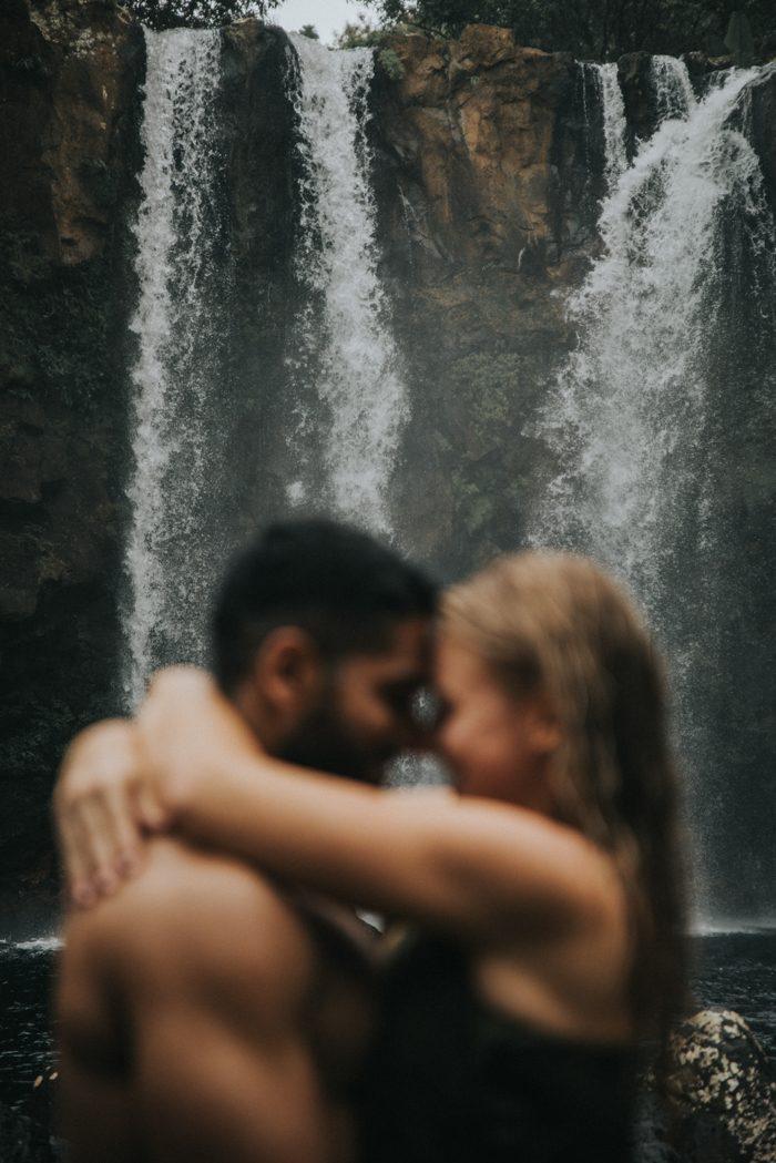 waterfall proposal photo
