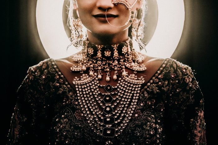 Indian bride intricate details
