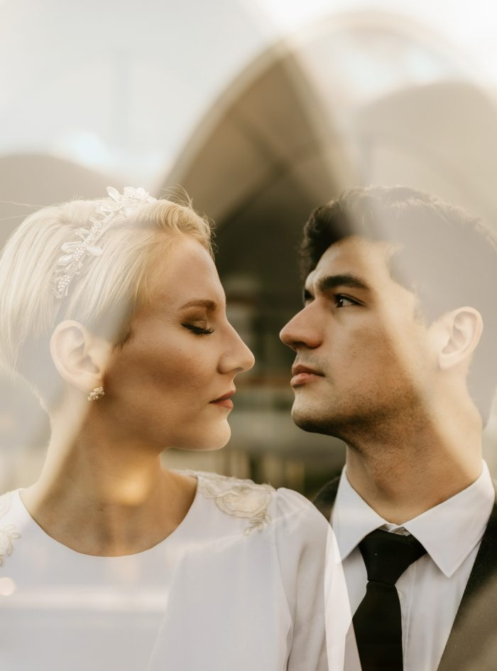 composite images wedding day