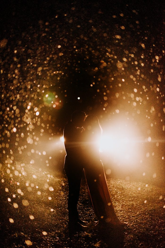 speckled light and couples shape