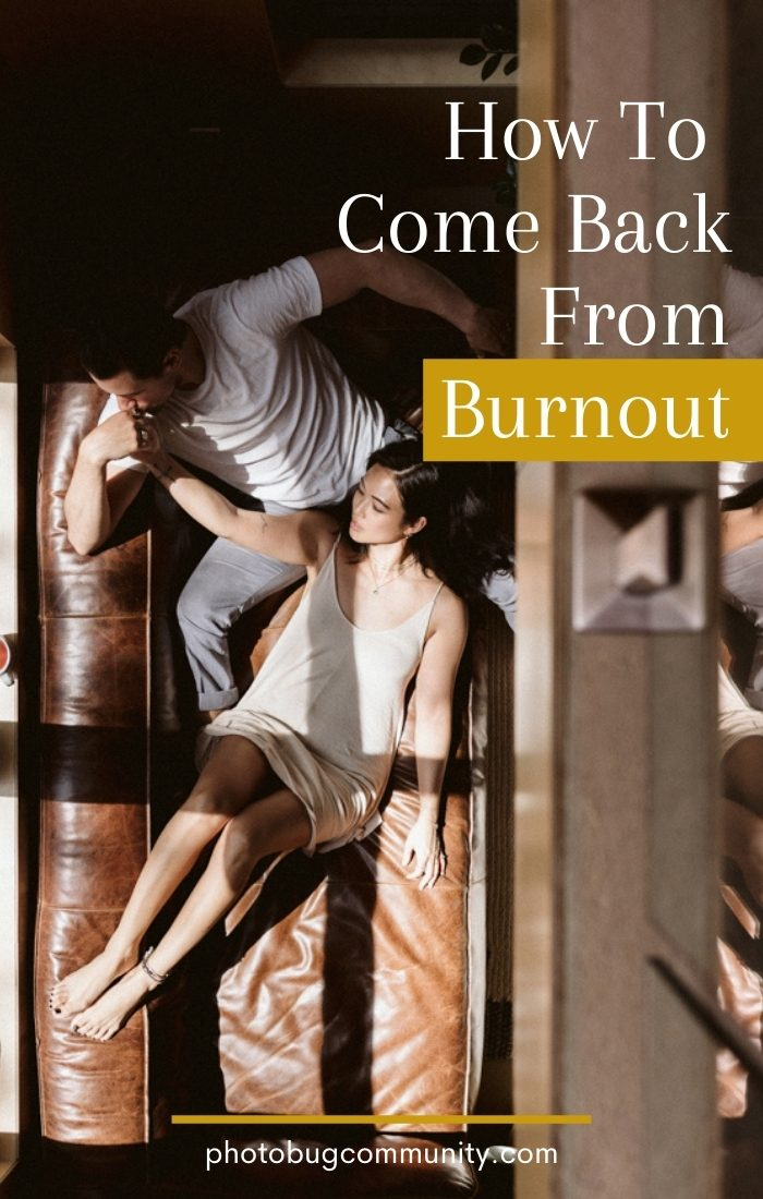 how to come back from burnout couple laying down